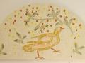 Oiseau sous l'olivier